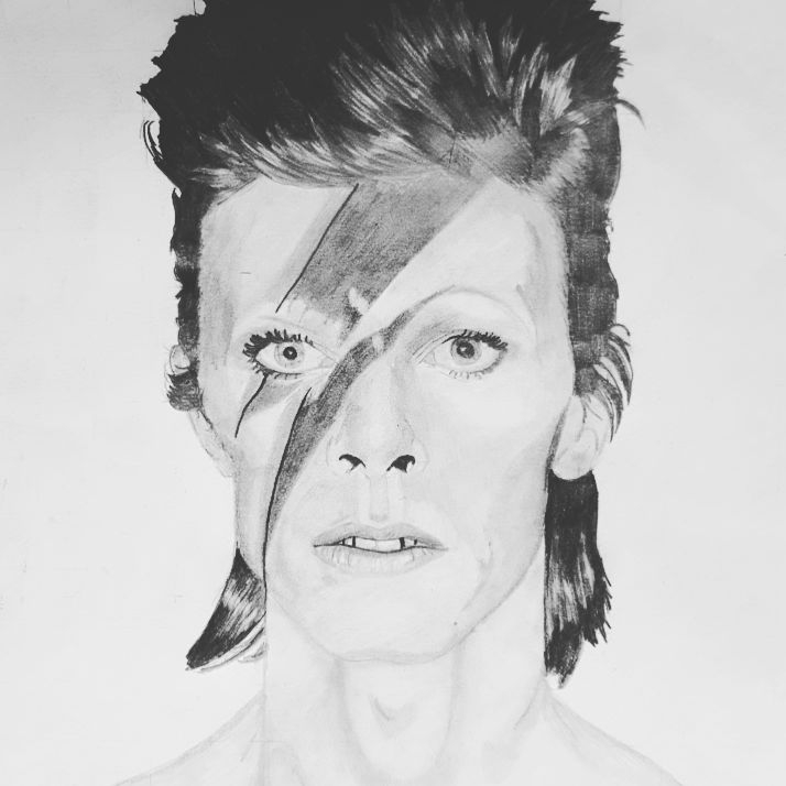 David Bowie by rfic